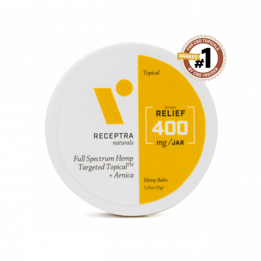 Receptra targeted topical cbd arnica bliss shop chicago venus and flora