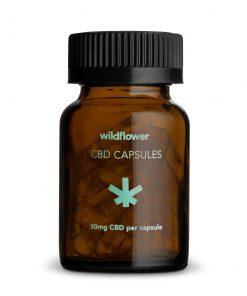Wildflower CBD capsules hemp venus and flora bliss shop chicago